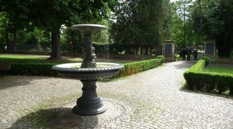 Brunnen am Ebershaldenfriedhof