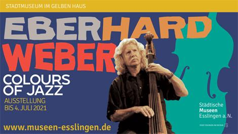 Teaserbild zur Ausstellung Colours of Jazz, Eberhard Weber am Bass